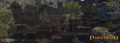 Pantheon - Pantheon illustre la contrée de Black Dagger Keep