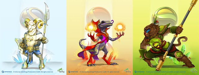 Sigils: Battle for Raios, le MOBA pour joueurs occasionnels