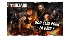 Distribution : 500 clefs pour tester Hazard Ops