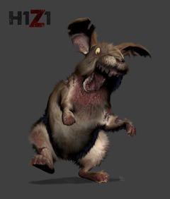Halloween : lapin zombie