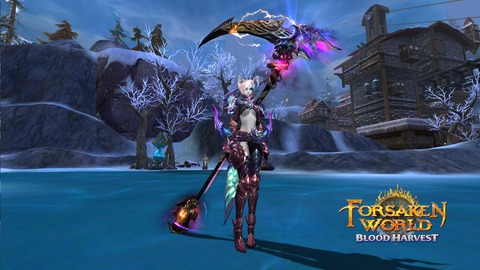 Blood Harvest - Blood Harvest, l'extension de Forsaken World est disponible