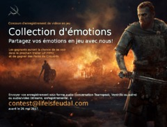 Fin de la troisième vague de test de Life is Feudal