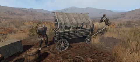 Life is Feudal: MMO - Le chariot tracté par cheval : arrive pour bientôt