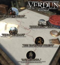 Verdun - Feuille de route