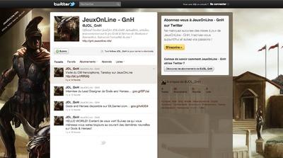 Capture d'écran de la page Twitter de Jol-GnH