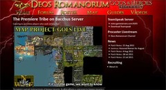 Les maps interactives de Deos Romanorum
