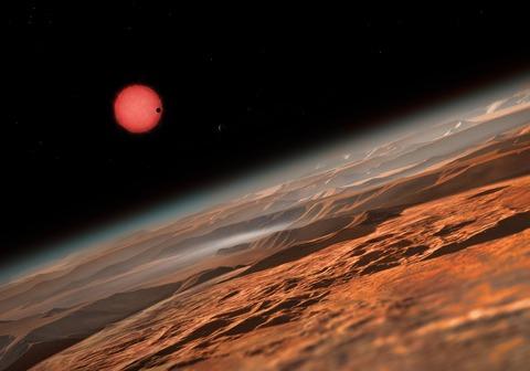 Elite Dangerous - Elite Dangerous avait prédit l'existence du système TRAPPIST-1 et de ses planètes