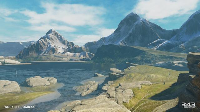 Forge d'Halo 5 - Alpine