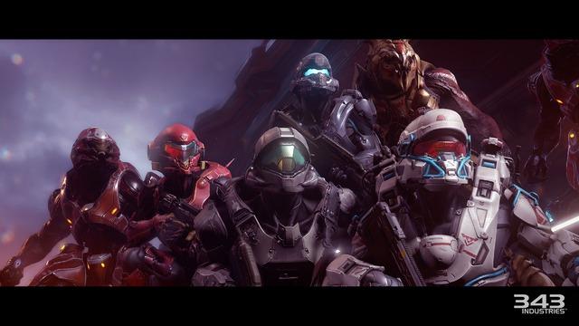 Halo 5 - Campagne - Equipe Osiris et affiliés
