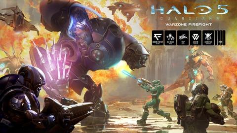 Halo 5 - C'est l'heure du Warzone Firefight, et gratuitement