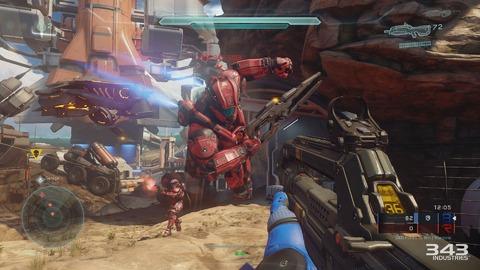 Halo Master Chief Collection - Gamescom 2015 - Halo 5: Guardians se dévoile encore un peu plus