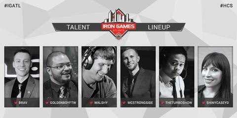 Iron Games HCS Atlanta Cast