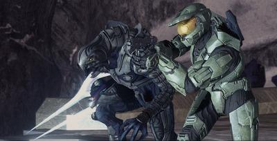 Master Chief et son nouvel allié l'Arbiter