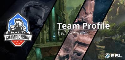 Halo Championship Series : Présentation de l'équipe Evil Geniuses