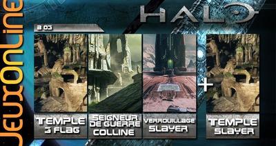 1er Tournoi JOL Halo : Cartes et modes