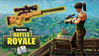 Un mode « sniper » temporaire pour Fortnite: Battle Royale