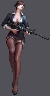 Des personnages féminins pour Counter-Strike: Nexon Zombies