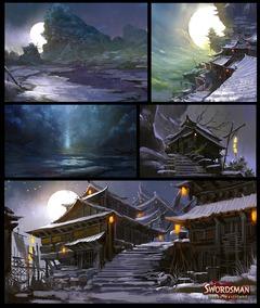 Gilded Wasteland, une première extension pour Swordsman Online