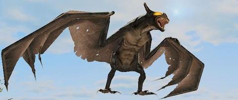 Présentation du chiroptère (chauve-souris), l'une des formes animales jouables du Project Gorgon