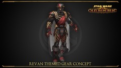 Concept art d'armure dans Shadow of Revan