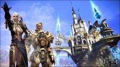 Vingt châteaux dans le ciel de Tera