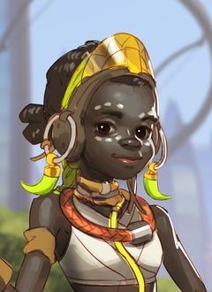 La géniale Efi Oladele se présente sur le site officiel d'Overwatch