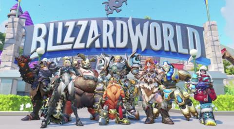 Overwatch - Blizzard World est déployé sur les serveurs de tests d'Overwatch