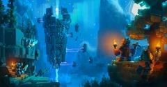 SkySaga: Infinite Isles : exploration, combat et créativité en voxel