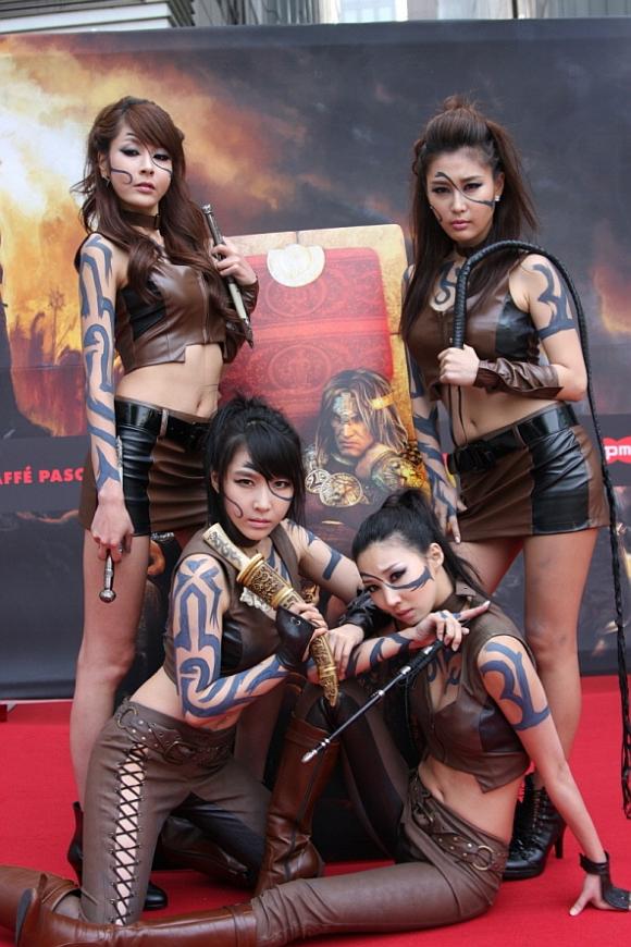 Lancement d'Age of Conan en Corée