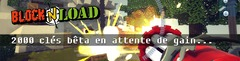 2000 invitations au bêta-test de Block N Load