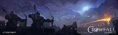 Crowfall : le Dévoreur de mondes face à des héros immortels
