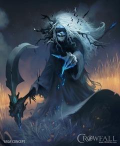 Présentation de Yaga l'Ancienne, la déesse protectrice de la magie de Crowfall