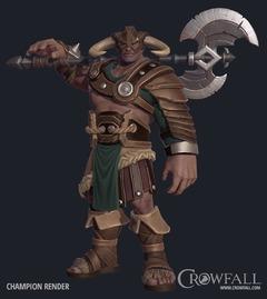 Rendu du Champion de Crowfall