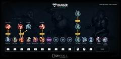 Ranger - pouvoirs de mêlée