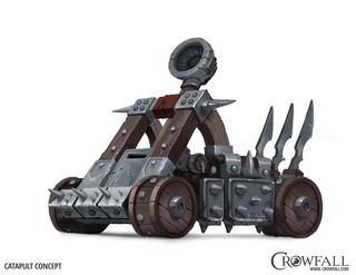 Crowfall esquisse le fonctionnement de ses armes de siège