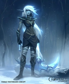 Elfe frostweaver féminine