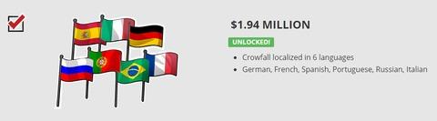 Crowfall sera traduit en six langues, dont le français
