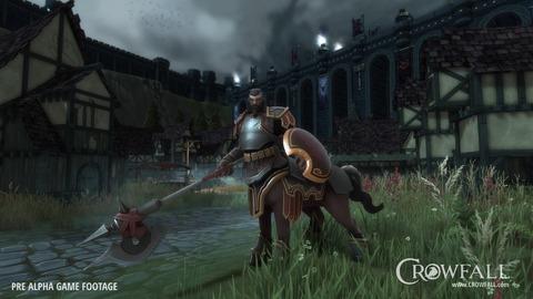 Présentation du Légionnaire, première capture in-game de Crowfall