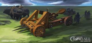 Crowfall déploie ses armes de siège