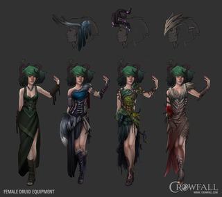 Le druide, présentation des mécaniques et prochain archétype à intégrer les tests de Crowfall
