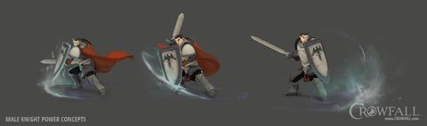 Zoom sur les « pouvoirs » du Chevalier de Crowfall