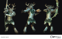 Race jouable : Crowfall présente les Elkens