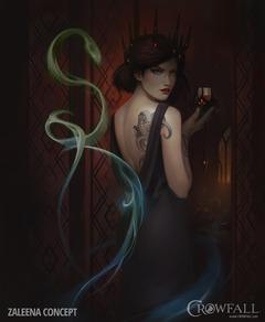 Présentation de Zaleena, l'ensorcelante fille du serpent