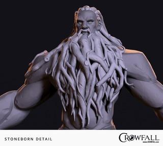 Les solides Stoneborns de Crowfall détaillent leurs capacités