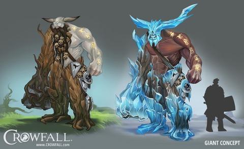 Crowfall présente ses géants