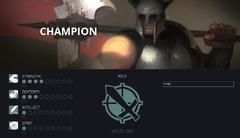 Statistiques du champion