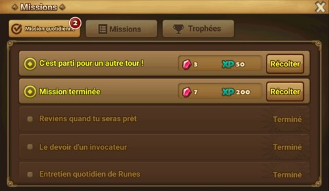 Summoners War - Les cristaux