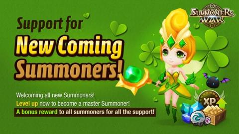 Summoners War - Coup de main pour les nouveaux joueurs