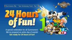 Evènement pour le 1er anniversaire (Part 1) 24h de Fun