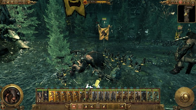 Test de Total War Warhammer : l'appel des hommes bêtes